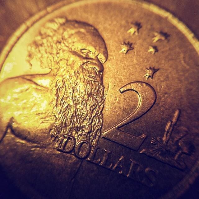 صورة لشكل عملة الدولار الاسترالي