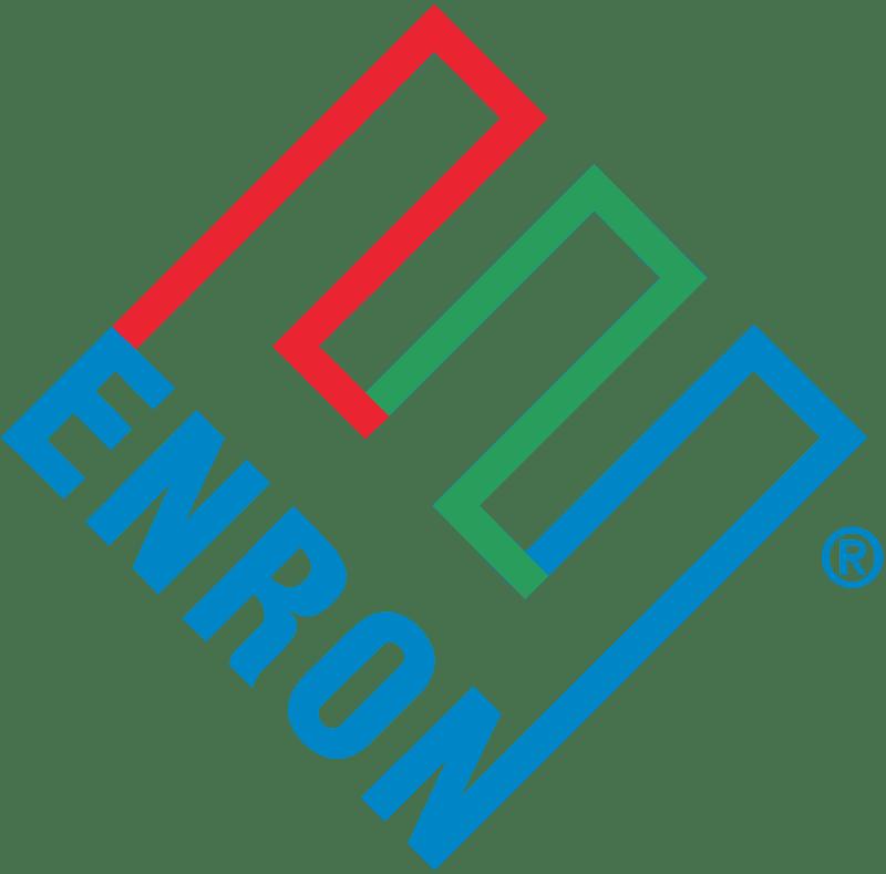 لوجو لشركة Enron التى استغلها مدرينها فى النصب